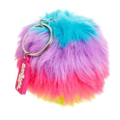 Furry Puff Keyring Jumbo