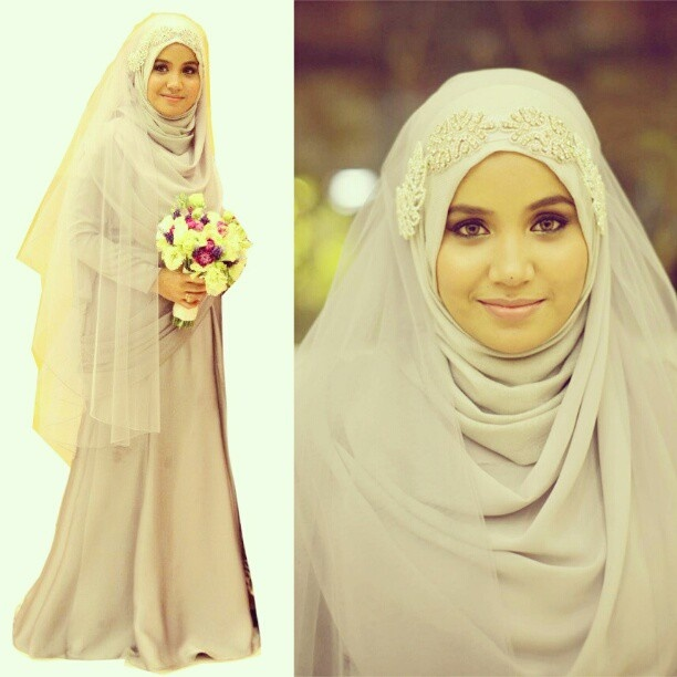 wedding dress syar'i