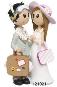Grooms Kuchen Figur Waikiki