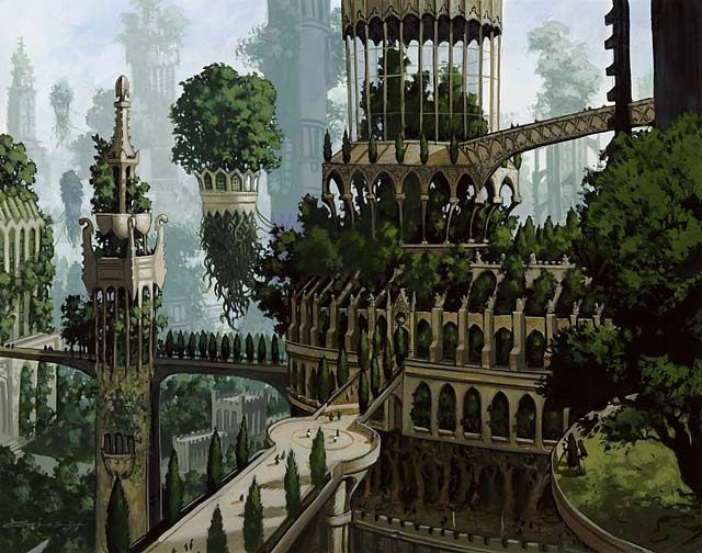 *Forest - Ravnica - Magic the Gathering