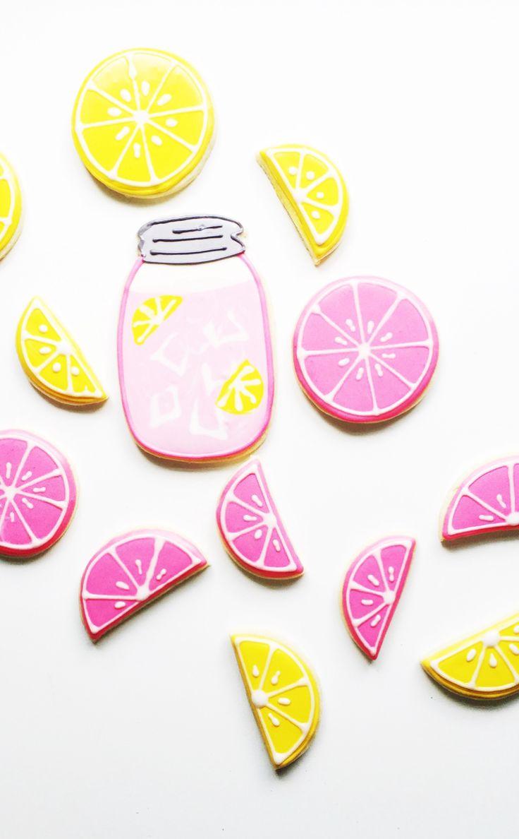 Pink Lemonade Sugar Cookies