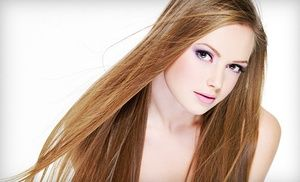 Groupon - Haircut Package with Blowout and Aveda Conditioning or Partial or Full Highlights at Le Posh Hair Salon (Up to 57% Off) in Upper West Side. Groupon deal price: $39
