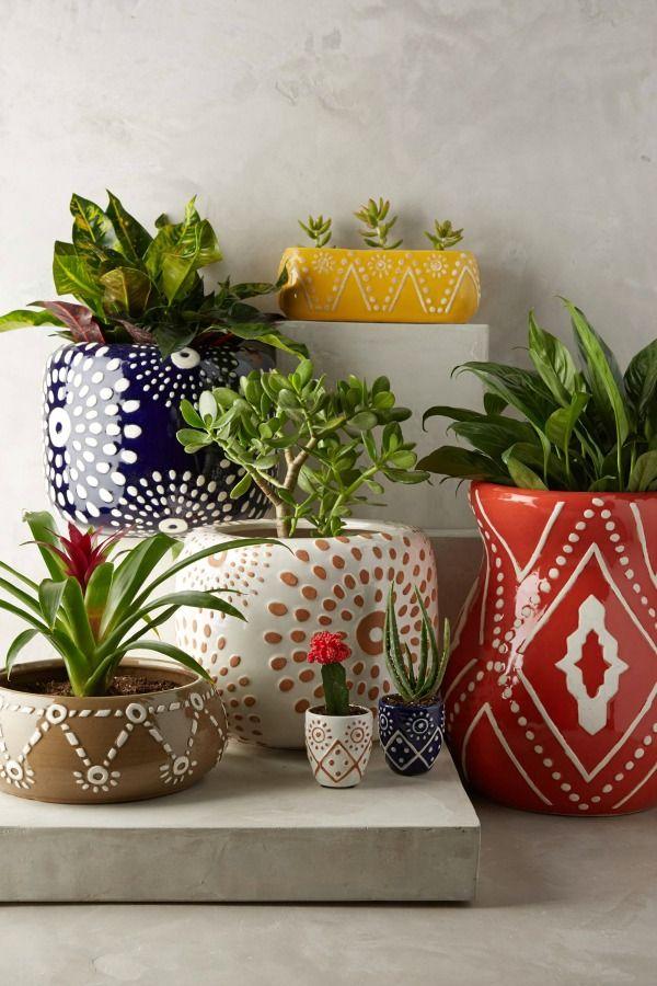 leta garden pot - anthropologie