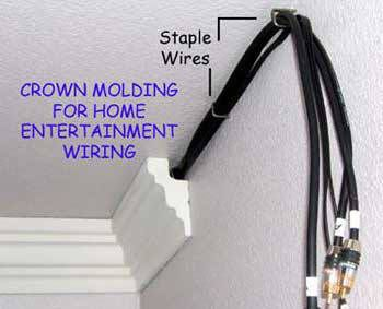 4 Inch flat back foam crown moldings - Crown molding solutions