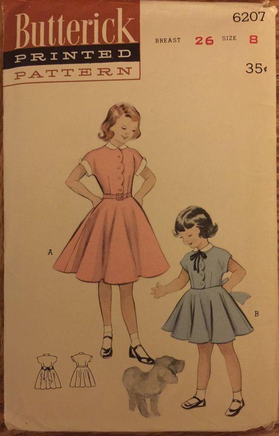 441 besten Butterick kids patterns Bilder auf Pinterest ...