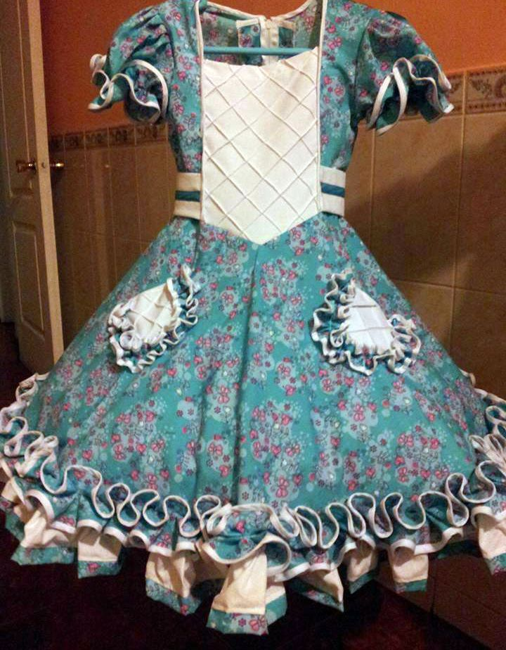 Vestido de China, huasa chilena!