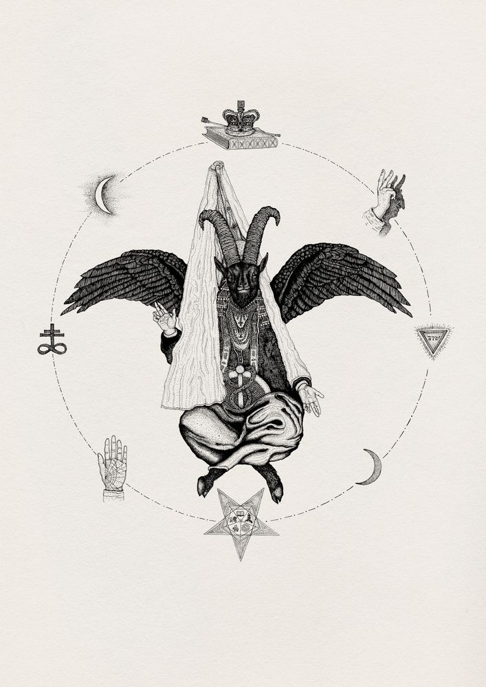 17 best images about fortune teller on pinterest ouija for Baphomet tattoo meaning