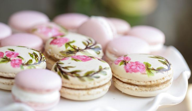 french patisserie french macaron macarons recipe hand painted french ...