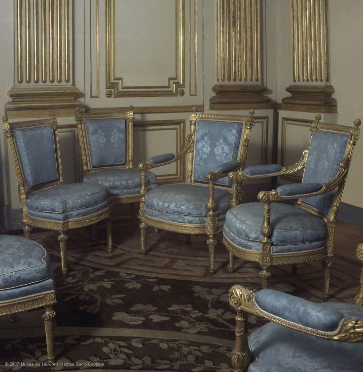 1000 id es sur le th me chaise de directeur sur pinterest for Chambre louis xvi versailles