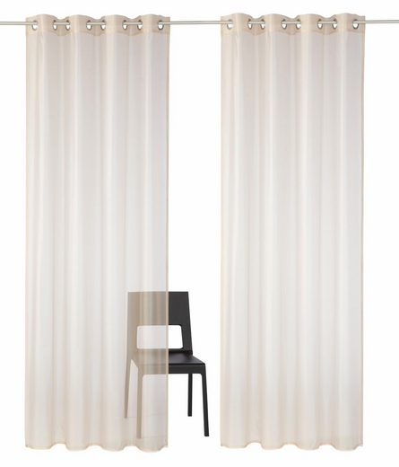 Gardine, Premium collection by home affaire, »Sistan« (2 Stück)