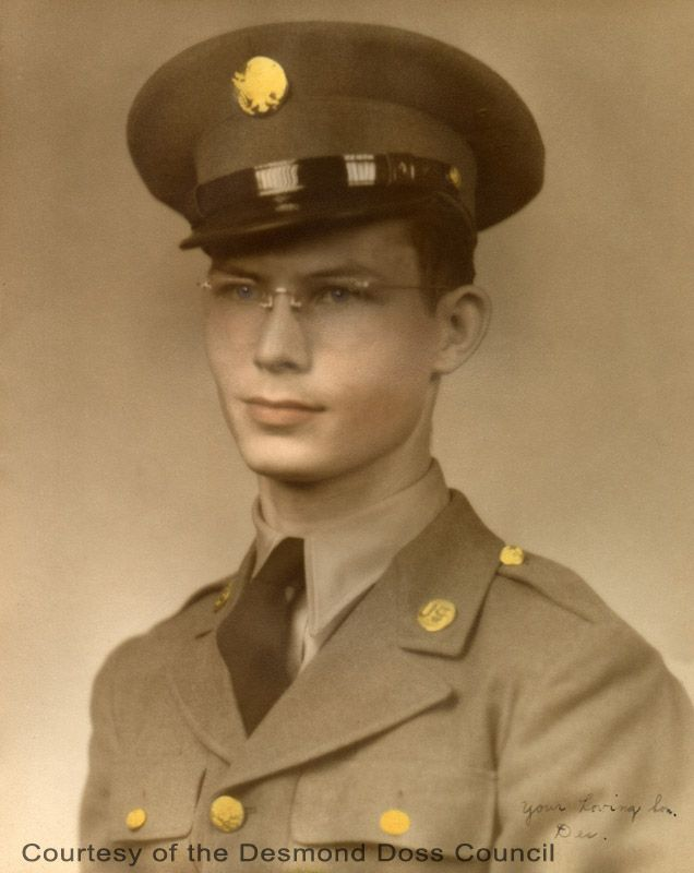 On April 1, 1942, Desmond Doss joined the United States Army. Little did he realize that three and a half years later, he would be standing on the White House lawn, receiving the nation's highest award for his bravery and courage under fire. Of the 16 million men in uniform during World War II, only 431 received the Congressional Medal of Honor...