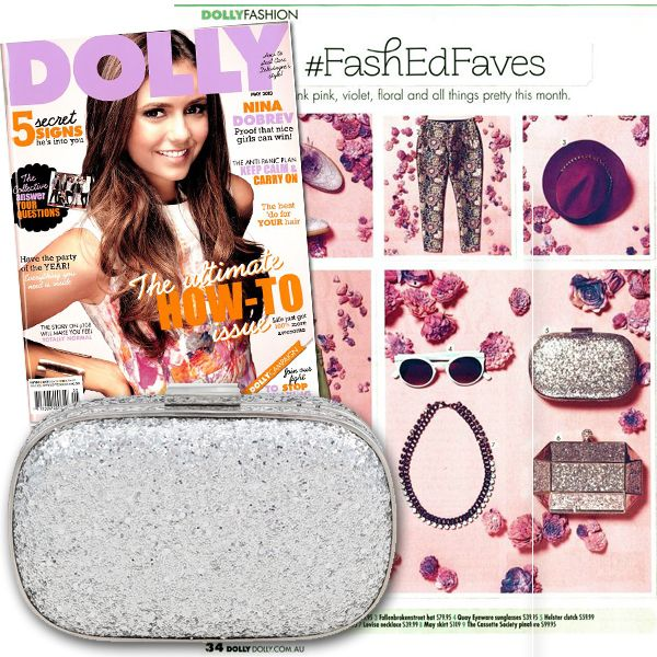 Holster Clutch featured in Dolly Magazine