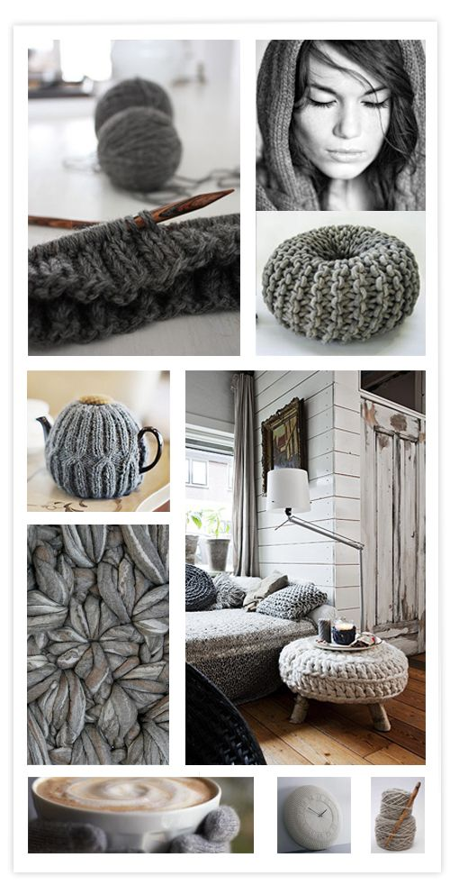 Knitting tendance in grew for your home