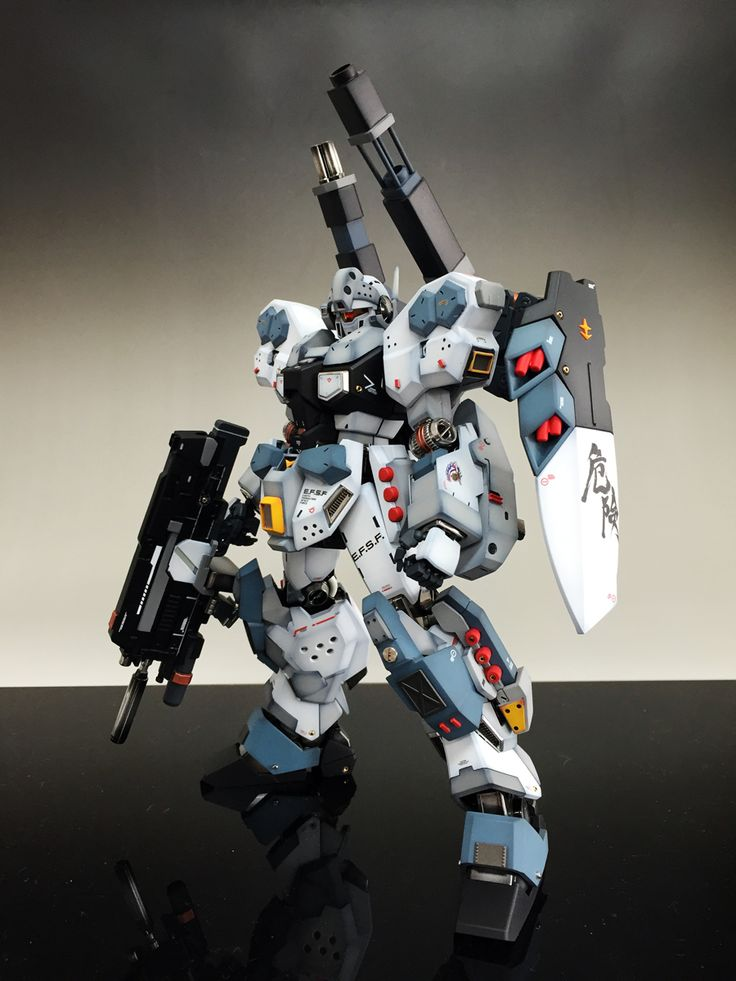 GUNDAM GUY: MG 1/100 Jesta Cannon - Customized Build