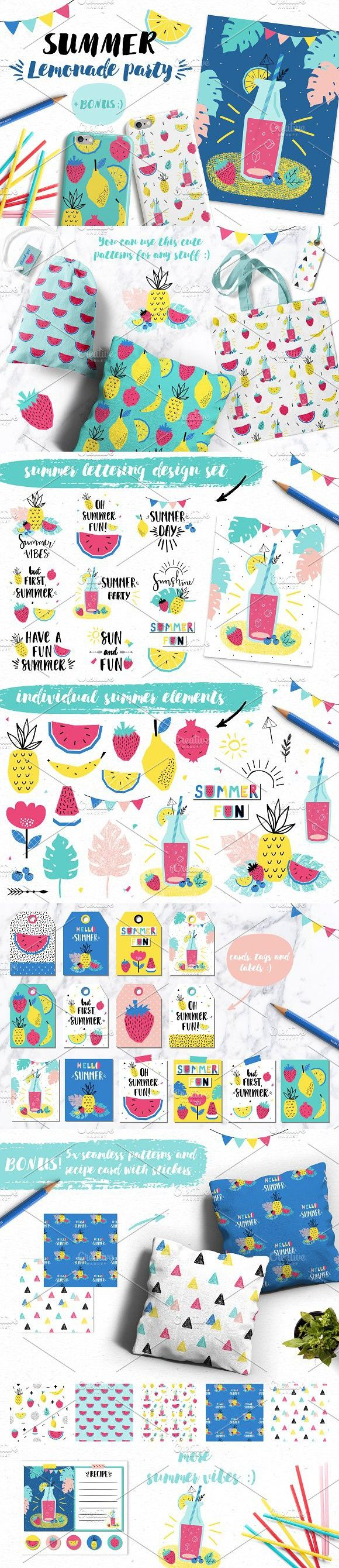 Design Templates, Poster Templates, Party Wedding, Wedding Fonts, Wedding  Cards, Garden Parties, Hello Summer, Lemonade, Gift Cards  Fun Poster Templates