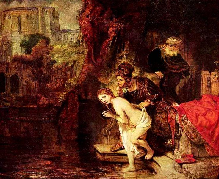 Картины Рембрандта. Сусанна и старцы. 1647 г.