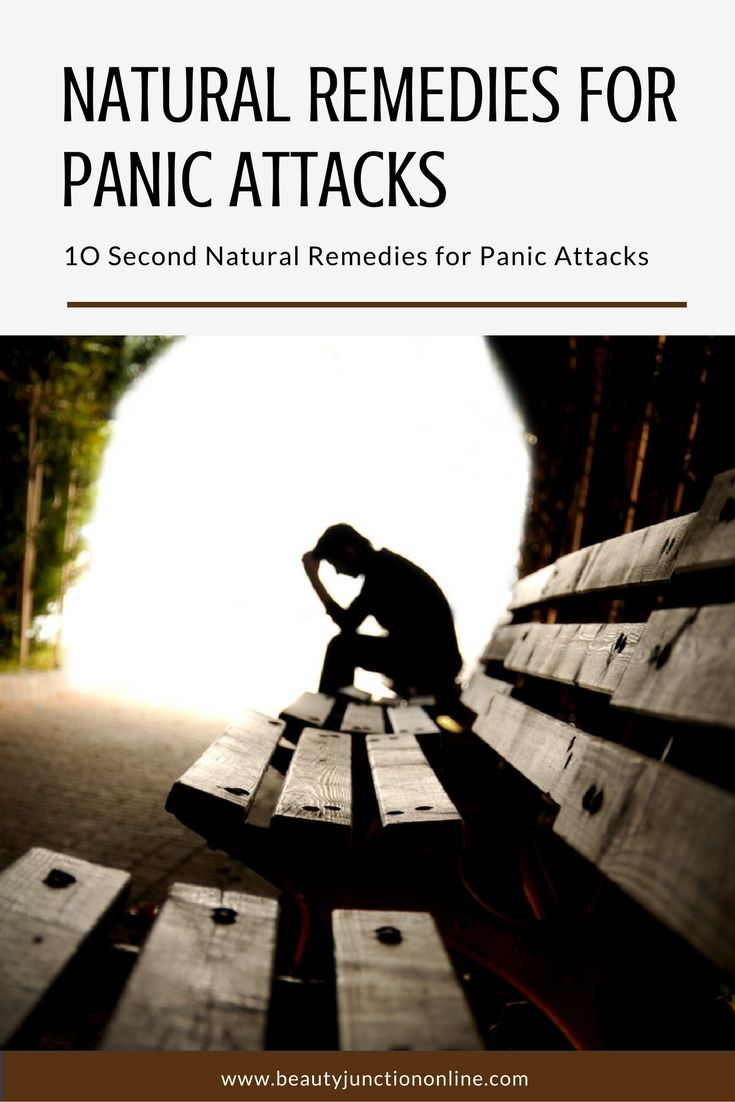 Time to discover the best natural remedies for panic attacks that work in less than 10 seconds!