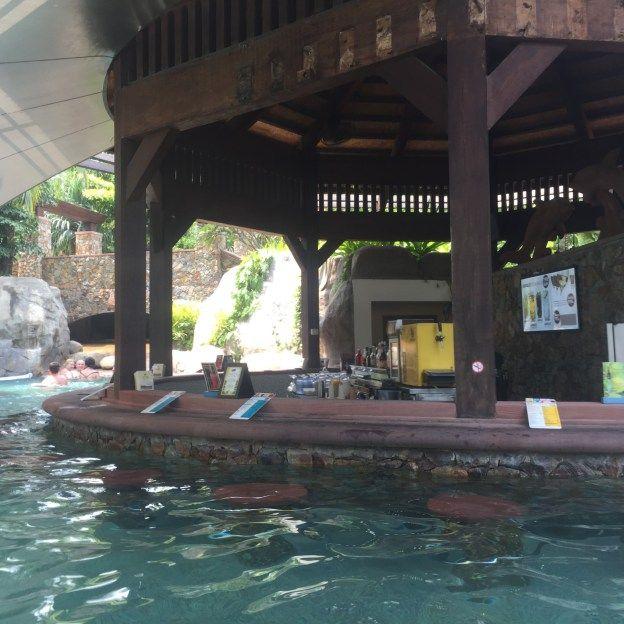 Waves Pool Bar at the Centara Grand Mirage Beach Resort Pattaya, Thailand @centar