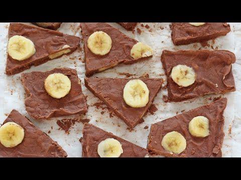 Chocolate Banana Frozen Yogurt Bark - My Fussy Eater