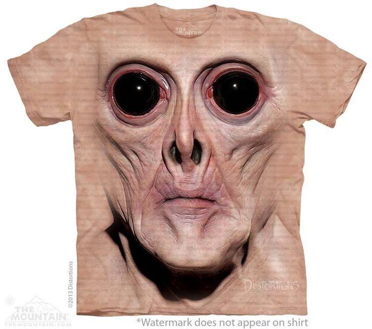 Krem T-Shirt - Alien T-Shirts - tees - green t-shirts - funnny tshirts - fantasy t-shirts - scary t-shirts - zombie t-shirts - death t-shirts - gift ideas for christmas - ideas for christmas - unicorn t-shirts - robot t-shirts - epic t-shirts