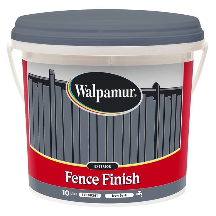Walpamur 4L Ironbark Fence Finish I/N 1450177 | Bunnings Warehouse