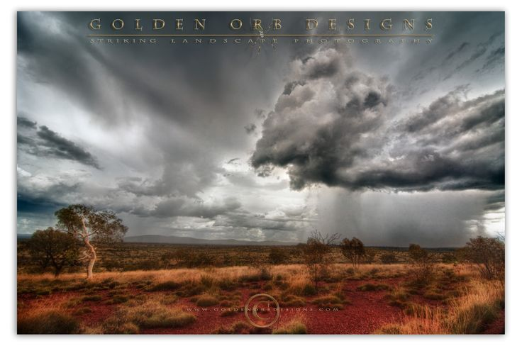 Karajini Storm Cell by Geoff Pritchard on 500px