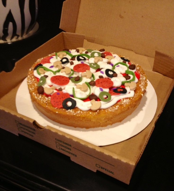 32 Best Images About Pizza Cake On Pinterest Happy Hour