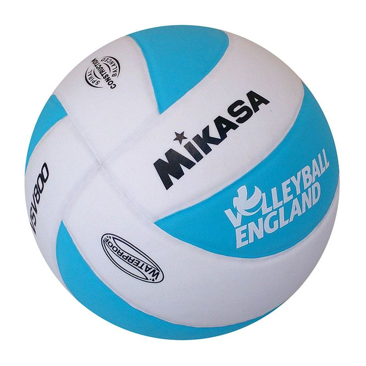 MIKASA VOLLEYBALL ENGLAND VOLLEY123 VOLLEYBALL - Ideal ball for beginners and street volleyball.