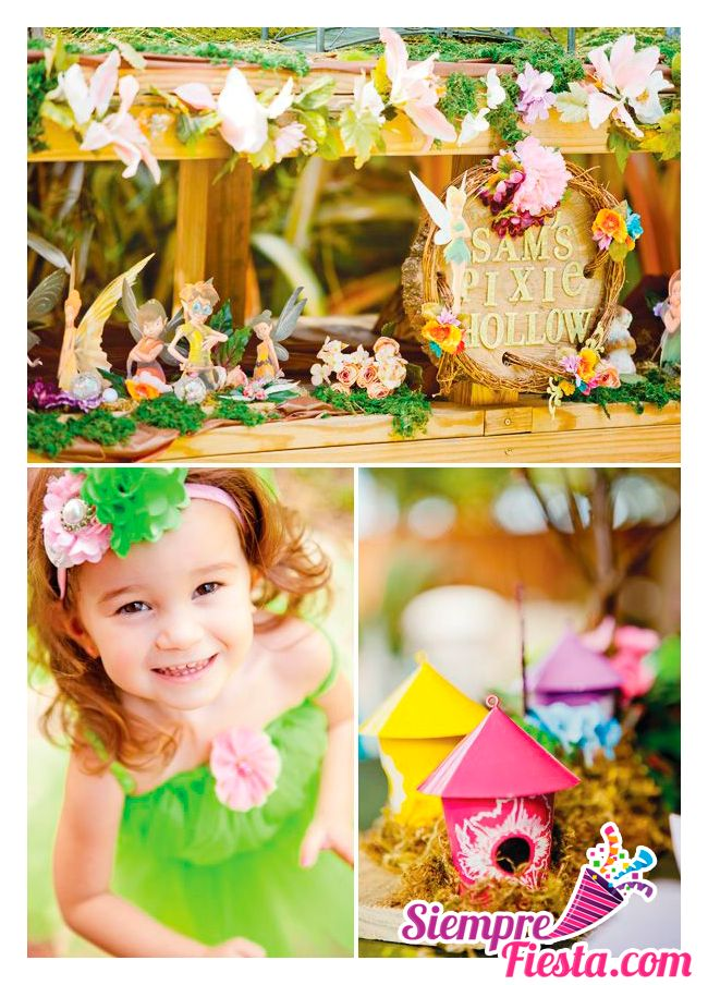58 best images about fiesta de campanita tinkerbell on for Articulos decoracion salon