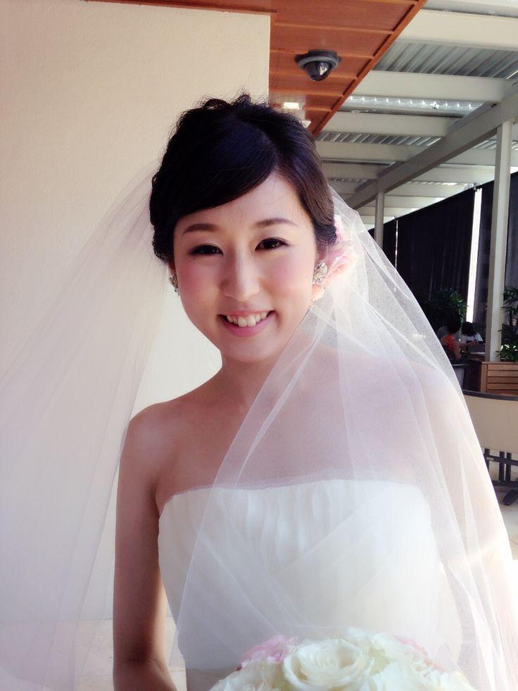 wedding hairstyle makeup hawaii ウェディング ヘアメイク ウエディング ヘアーメイク ハワイ www.bilino.com