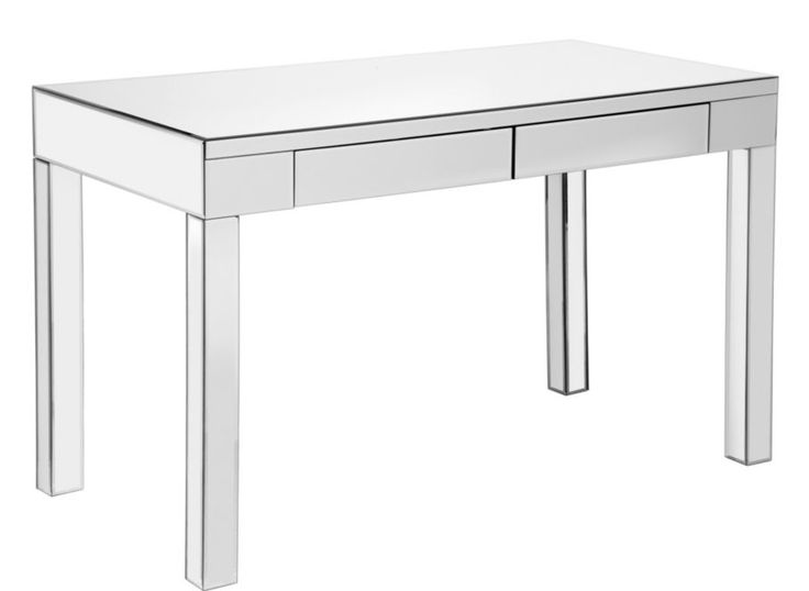 Ledger Parsons Mirrored Desk   Mirrored-furniture   Furniture   Z Gallerie