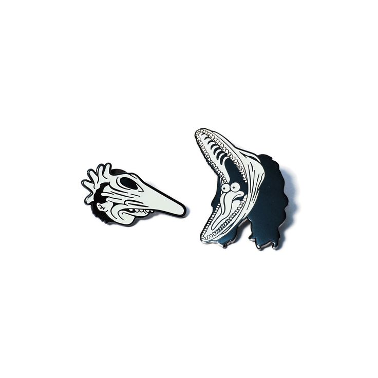 Dearly Departed Pin Set (Black)