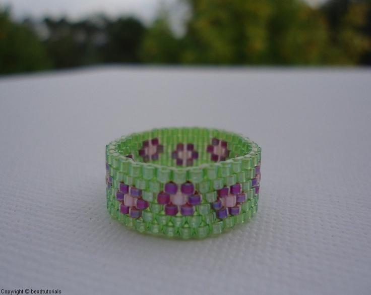 Bead Eyes Seed Loom Pattern