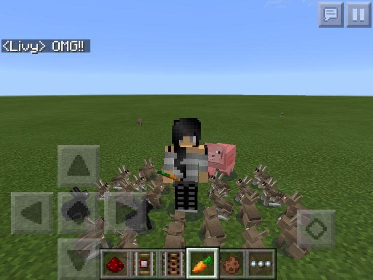 OMG BUNNIES IN MINECRAFT PE! VERSION 13.0!