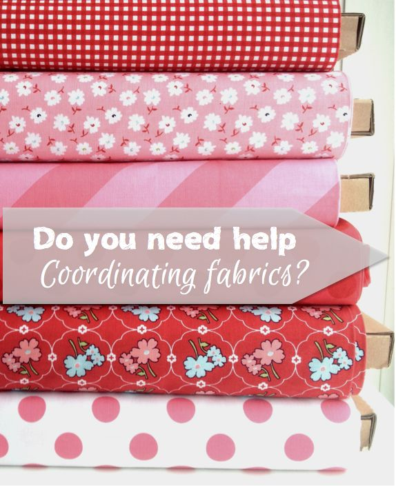 Do you need help coordinating fabrics? Let these shops help you, or come join our Pinterest board for inspiration!