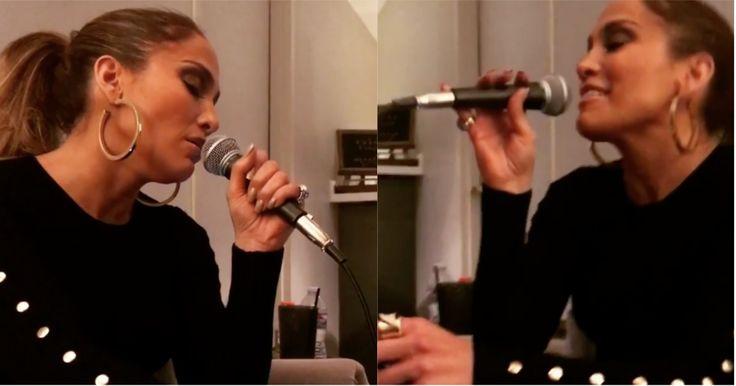 Así les canta Jennifer López a Alex Rodríguez y sus amigos en privado (VIDEO) #Farándula #AlexRodríguez #JenniferLópez