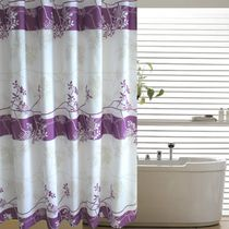 Ou Yizi calme haute qualité imperméable à leau de bain douche Rideau moule envoyer crochets de tissu de rideaux de douche de salle de bain polyester épais