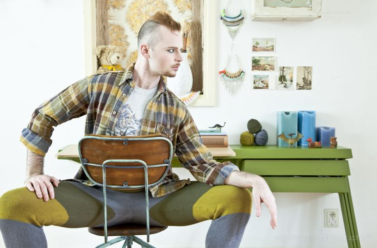Westknits at Home by Stephen West Photography & makeup by Alexandra Feo