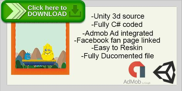 [ThemeForest]Free nulled download Monster Hunt for Flag | Unity 3D Source | 5 ADS Network Integration with Admob from http://zippyfile.download/f.php?id=49150 Tags: ecommerce, admob ads, android game, complete game, unity 3d