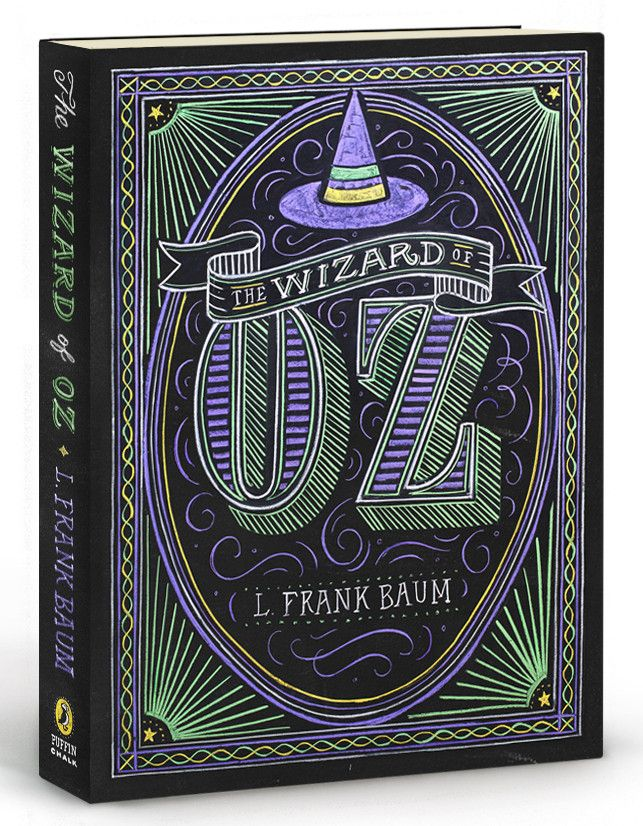 "L. Frank Baum's children's classic, The Wizard of Oz, with cover art by Dana Tanamachi. Soft-cover, 5""x7"""