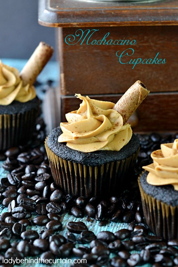 Chocolate Mochaccino Cupcakes