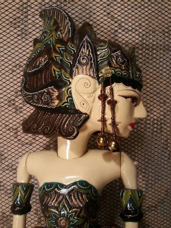 Balinese Stick Puppet Shinta / Golex Wayang by RustySalvageRose