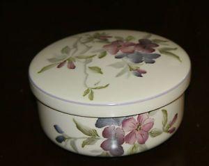 RARE Hankook Porcelain Covered Trinket Box Bowl Korea | eBay