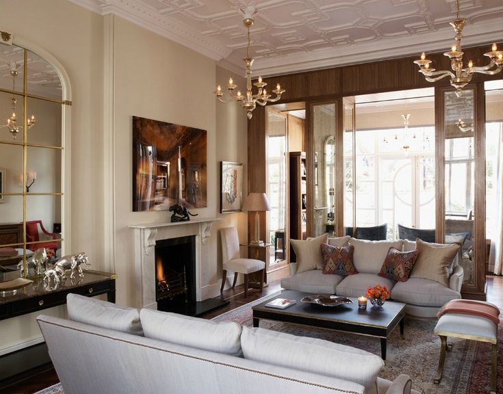 Brilliant Modern Sofas In Living Room Projects By David Linley | LINLEY is an interior design firm based in London known for creating projects that represent British design at its best. Here are the design firm's most beautiful living room projects with modern sofas to inspire you! Find more here: http://modernsofas.eu/2016/06/13/brilliant-modern-sofas-living-room-projects-david-linley/