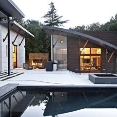 17 best images about japanese pavilion on pinterest for Pool design mcmurray