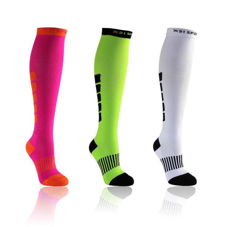 Knee High Compression Running Socks
