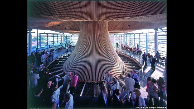 Richard Rogers: secretos de un arquitecto revolucionario: Asamblea Nacional de Gales, Cardiff. Foto: Katsuhisa