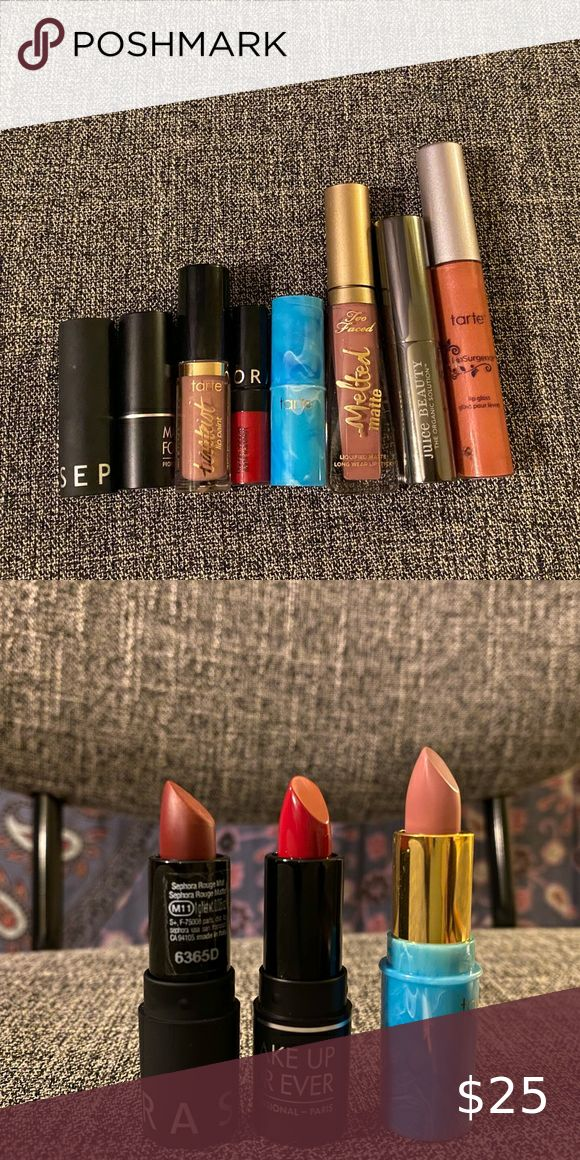 Lip product bundle in 2020 Makeup forever lipstick
