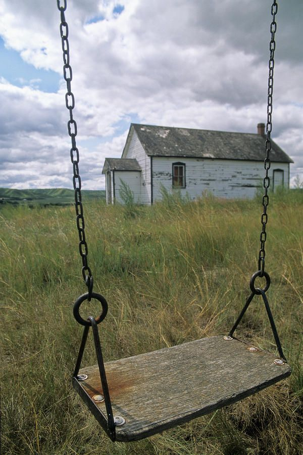 Old Country School & The Swing--Andrew Wyeth