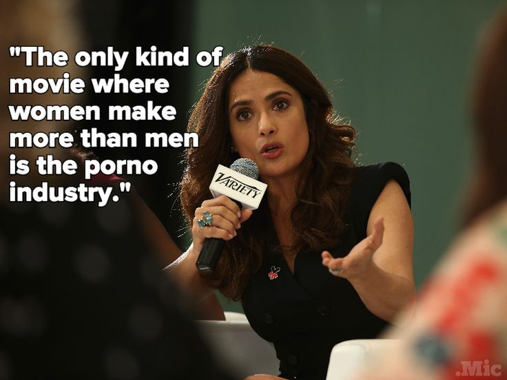 In One Quote, Salma Hayek Perfectly Nails What's Wrong with Sexism in Hollywood